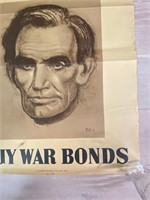 "1943 ""Buy War Bonds This World Cannot"