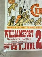 Clyde Beatty-Cole Bros. Circus Poster
