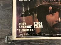 """1971 """"Blind Man"""" Abkco Films"""