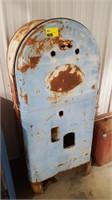 "Vintage ""Mailbox"" Coke/Pepsi Machine Shell.  No"