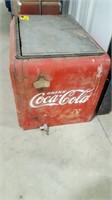Vintage Coca-Cola Stand Cooler Top, no legs