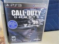 Lot (5) PlayStation3 Video War Games