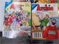 Lot (22) ARCHIE Comic Magazines MINT #1's etc