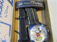 Lot (2) New MickeyMouse Disney Wrist Watches Boxed