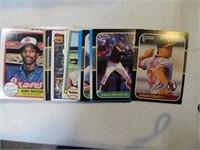 "4""stack 80's Baseball Cards Estate"
