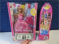 Lot (2) MINT Barbie Dolls Toys 2010/2011 Boxed
