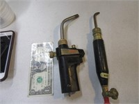 Lot (2) NICE Hand Torches Tools