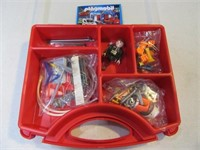 New 2007 PlayMobil Toy CarWash SET in Case