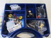 New 2007 PlayMobil Toy Motorcycle Police SET Case