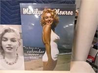 Lot (2) Mint MARILYN MONROE Metal Signs