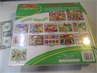 Lot (3) NEW My1stPuzzles Mellisa&Doug 1/2 $50+