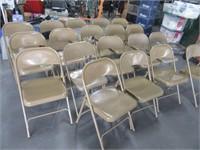 Lot (19) Metal Folding Chairs