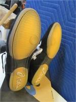 New ASICS Men's sz13 Blk/Wht BAM Style Shoes Snkrs