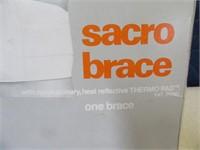 New SacroBrace 1sizefitsall back Reflective Brace