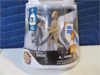 08' Star Wars BattleDroid Mint Card Action Figure