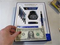 New WATERMAN Fountain Pen Kit Set 1/2
