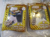 Lot (12) New Packs Baseball Collector's Cards