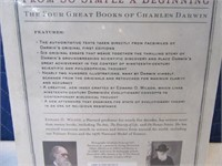 "New Fancy Book ""Charles Darwin"" $50 Hardback"