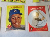 Lot (16) 50's era Baseball Sports Cards