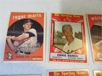 Lot (19) 50's era Baseball Sports Cards Maris