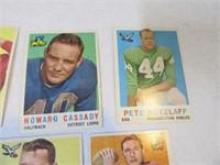 Lot (20) 50's Era Football Sports Cards Asst