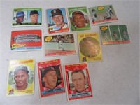 Lot (11) 50's era Baseball Sports Cards