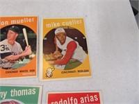 Lot (40) 50's era Baseball Sports Cards LOT2