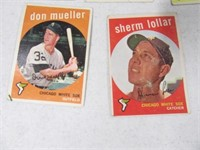 Lot (40) 50's era Baseball Sports Cards LOT4