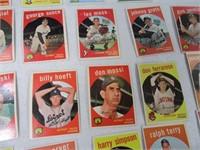 Lot (56) 50's Era Baseball Sports Cards END OF BOX