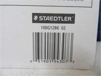 New STAEDTLER 12pc Mars Lumograph Pencils 2/6