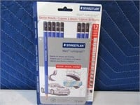 New STAEDTLER 12pc Mars Lumograph Pencils 4/6