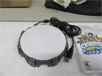 Wii Skylanders Video Game w/ 10 Figures & Portal