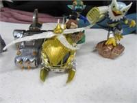 Skylanders Figures & Vehicles LOT 20+ & Bag