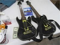 PS4 Video Game Guitar Hero LIVE w/ 2 Guitars