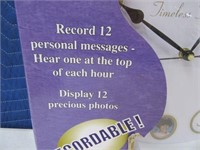 New Timeless Treasures Picture Clock
