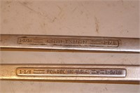 Craftsman assorted fractional wrenches