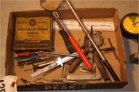 Precision tools - Feeler gauges, & more 15+pcs