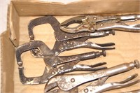 5pcs Vice grip Locking pliers & welding clamps