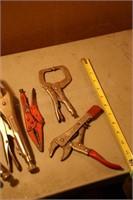 5pcs locking pliers