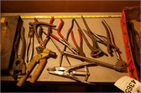 Assorted pf pliers, nippers etc 20+pcs