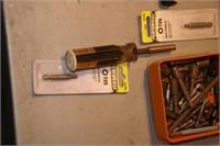 assortment of driver bits - 3 sets & assortment