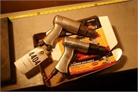 air hammers 2pcs - 1 new in box