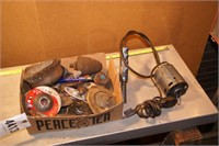 box of abrasives, wire wheels & more 30+pcs
