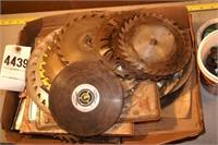 "box of saw blades 6-10""  24+pcs"