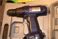 drill metal case w/ universal charger