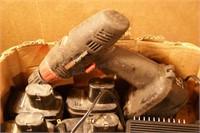 coleman powermate drill & battery powered 10pcs