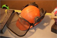 Chainsaw helmet w/ ear protection - 6pcs