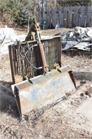 quick attach skid loader forks ** Note Removal **