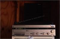 Panasonic stereo turntable w/ cassette