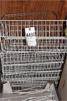 pegboard hooks & wire baskets